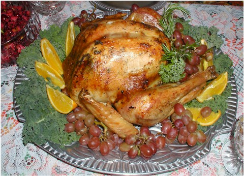 Roasted turkey recipe ivory spring for Preheat oven for turkey