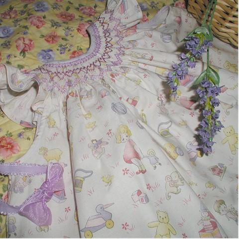 lavender smocking6
