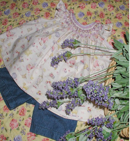 lavender smocking9