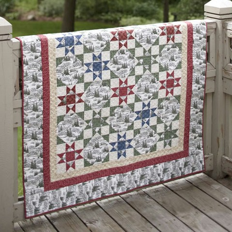 Christmas in Ohio in Fons & Porter's Easy Quilts (Winter 2010 ... : fons and porter quilt patterns - Adamdwight.com