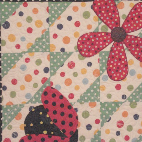 Pat's complete ladybug quilts – Ivory Spring : lady bug quilts - Adamdwight.com
