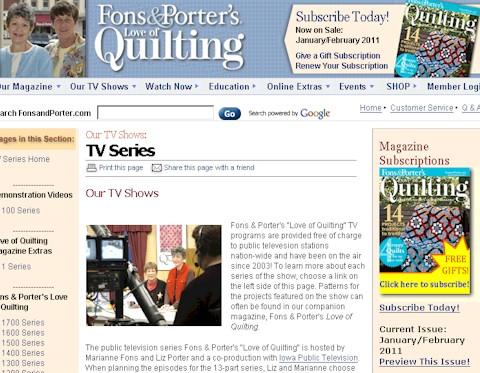 Josephs Pinwheels In Fons Porters Love Of Quilting Mayjune