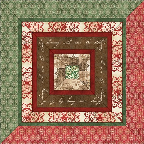 Free Throw Pillow Quilt Pattern : FREE PATTERN: Homespun Holidays Throw and Pillows ? Ivory Spring