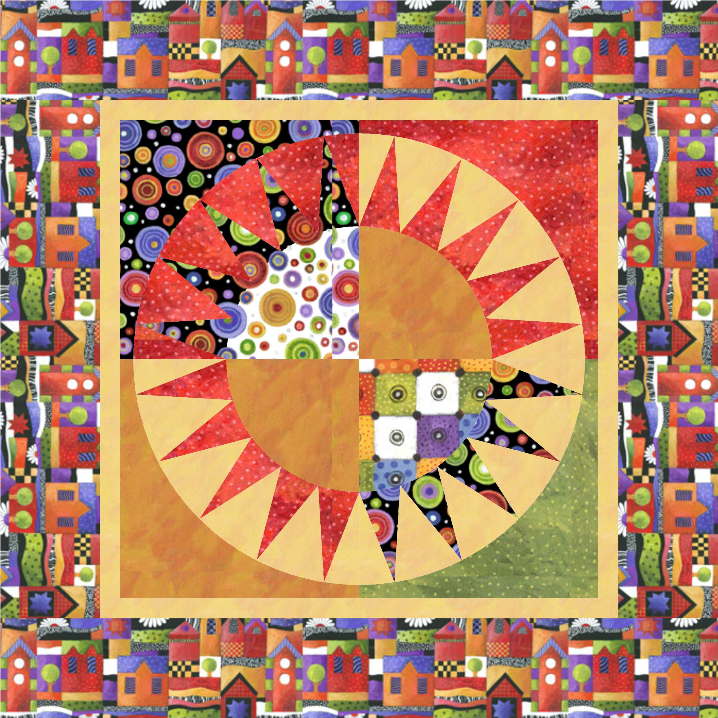FREE PATTERN Sausalito New York Beauty Throw Quilt And