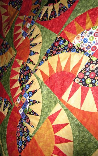 FREE PATTERN: Sausalito New York Beauty Throw Quilt and Pillow and ... : new york beauty quilt block patterns - Adamdwight.com