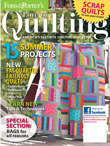 Fons And Porter Love Of Quilting Mayjune 2012 Ivory Spring