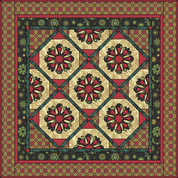FREE PATTERN Wintertide Christmas Quilt Patterns Free Download