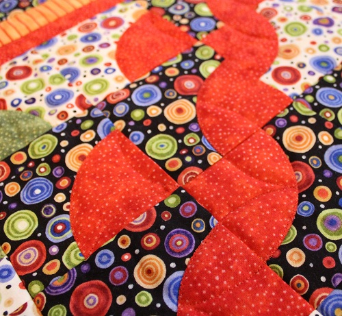Baubles, Baubles in Fons and Porter's EASY QUILTS (Spring 2013 ... : fons and porter quilt kits - Adamdwight.com