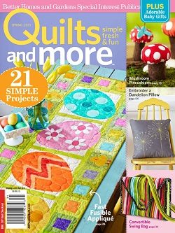 2 Wishes in QUILTS AND MORE (Spring 2013) | Ivory Spring
