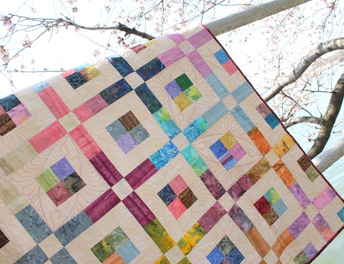 Stained Glass in SIMPLE QUILTS & SEWING (Spring 2013) – Ivory Spring : simple quilting - Adamdwight.com