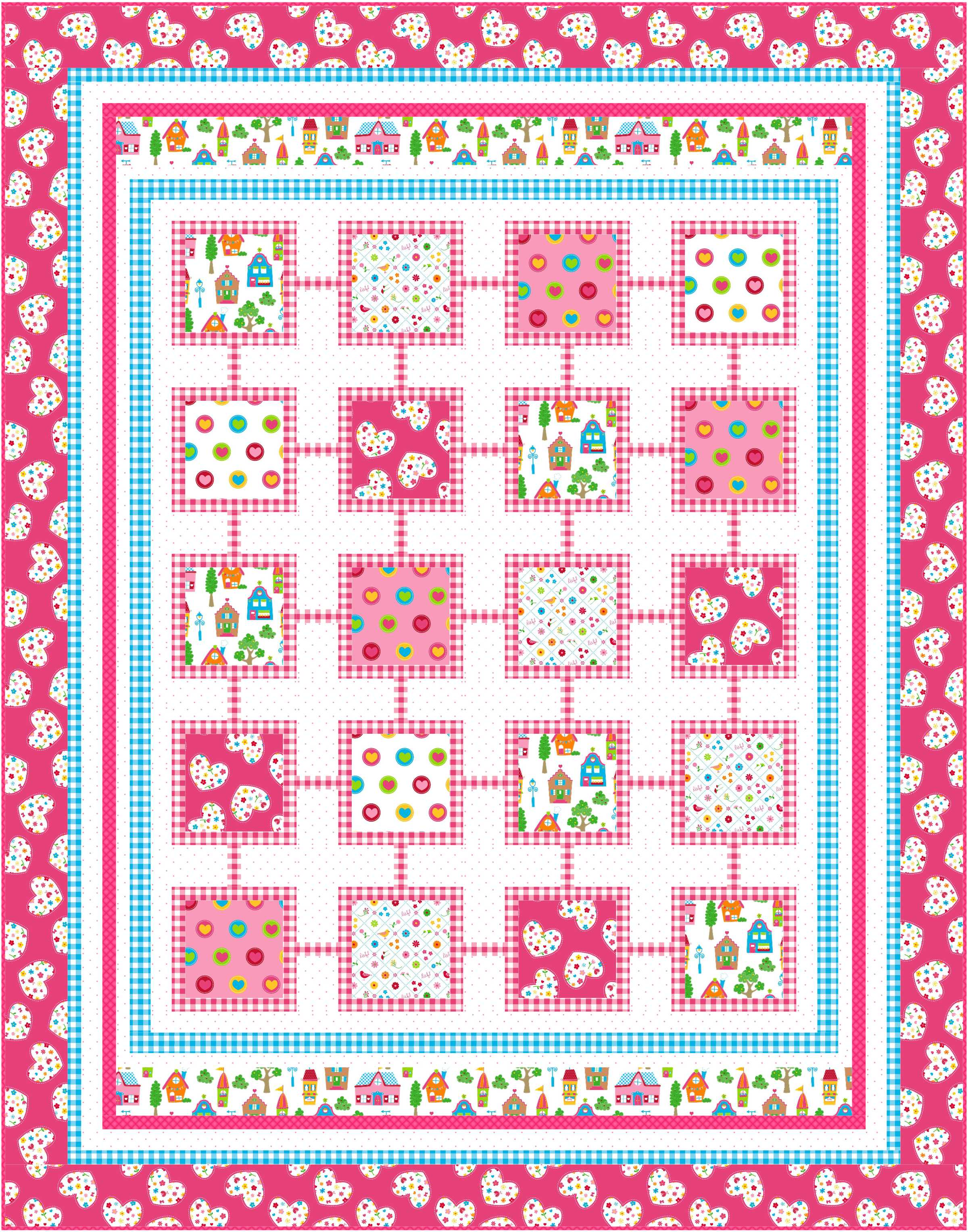 Free Girl Quilt Patterns