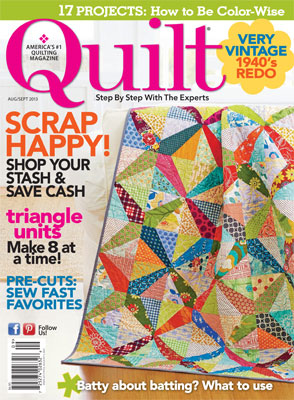 Hello Friends, Itu0027s Lovely To Have You Visit Again! I Am Happy To Share  With You Today My U201cEnchanted Forestu201d Quilt, Featured In QUILTu0027s August/September  ...