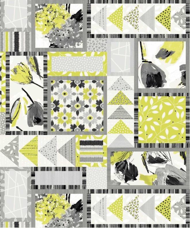Manhattan panel print