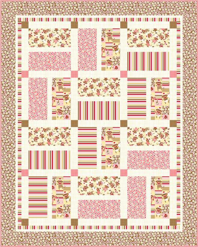 Crib Quilt Pink_high res with binding
