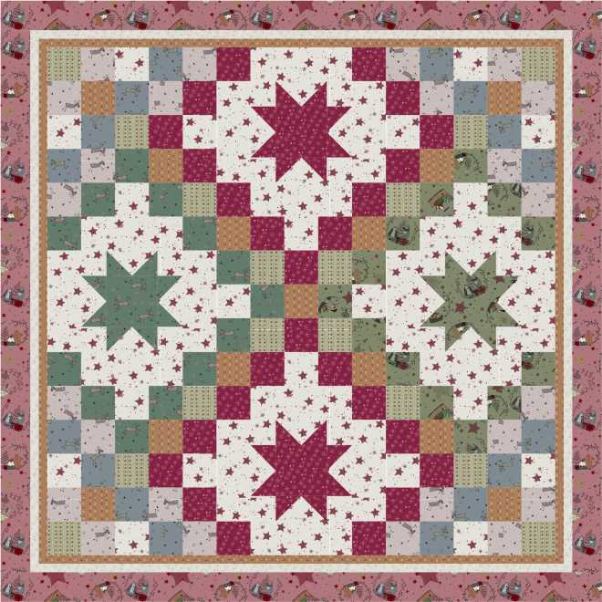 Stars and Snowflakes, Recreating Antique Quilts