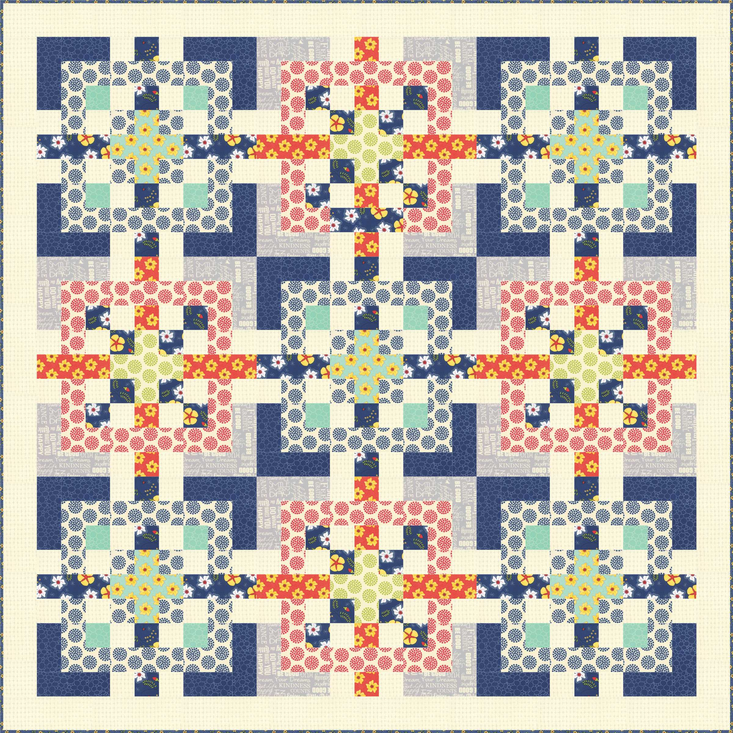Cover Quilt Alert: All In Knots in FONS & PORTER'S EASY QUILTS ... : fons and porter quilt patterns - Adamdwight.com