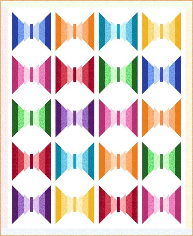 Bright Strips_Design 1a_64 x 78.5