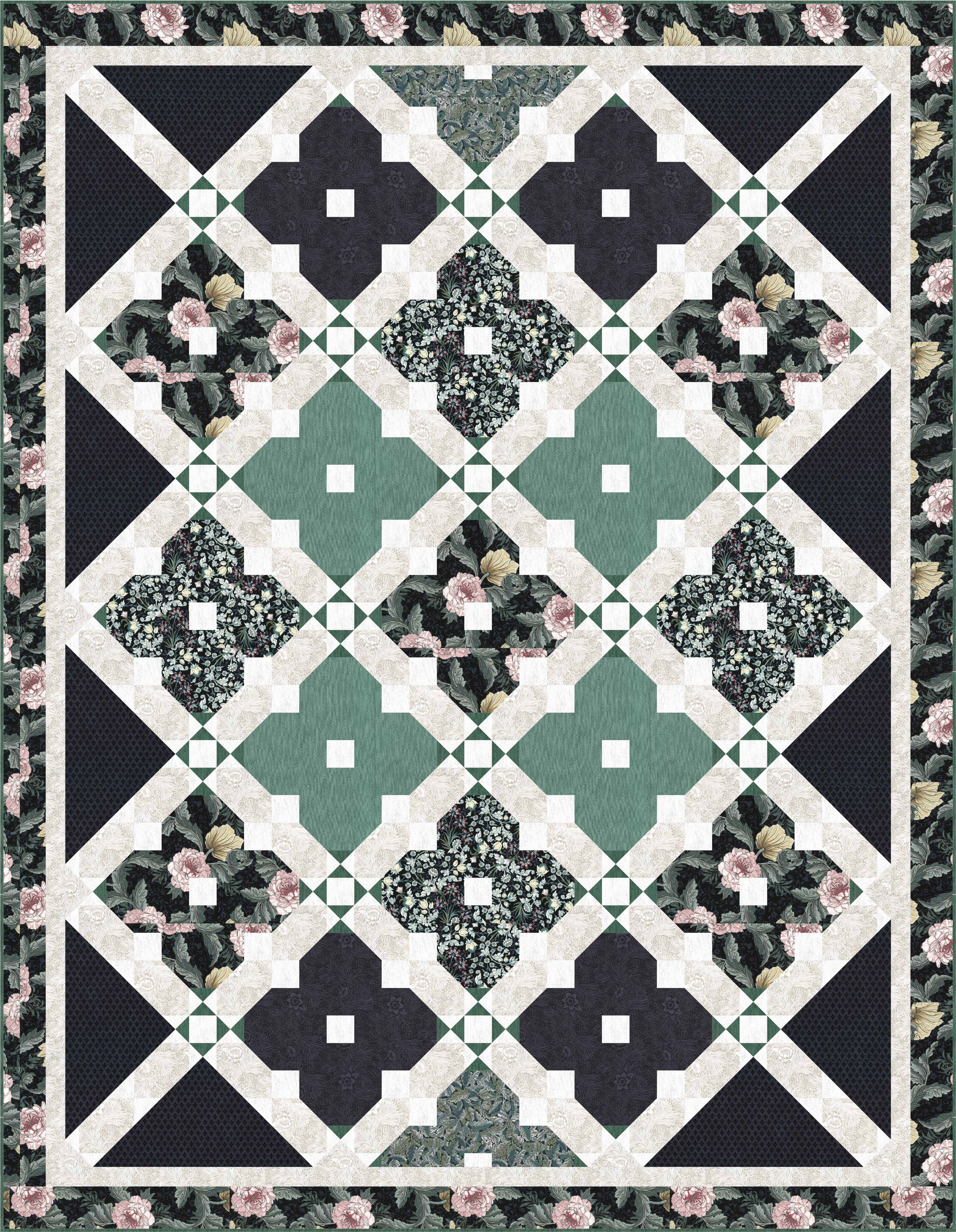 FREE PATTERN: William\'s Window Garden – Ivory Spring