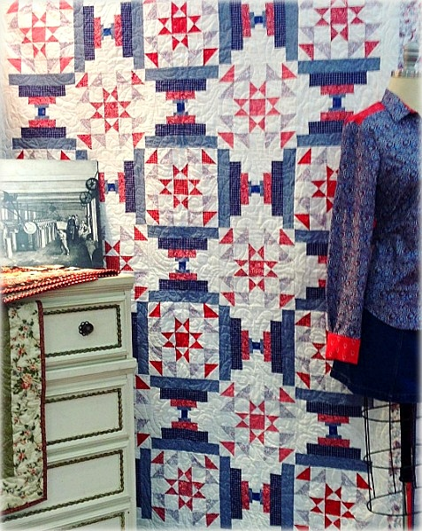 A Quilts of Valor FREE PATTERN using Quilting Treasures Monroe